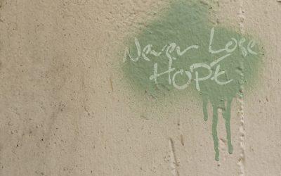 Blijf hoopvol